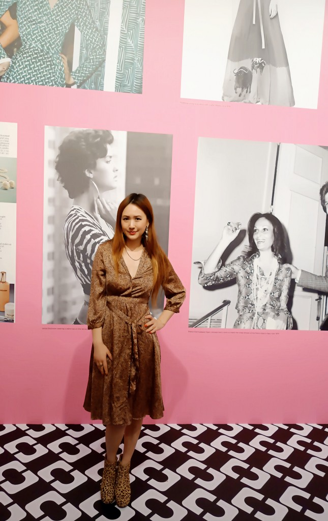 Diane Von Furstenberg Journey of A Dress Opening Night