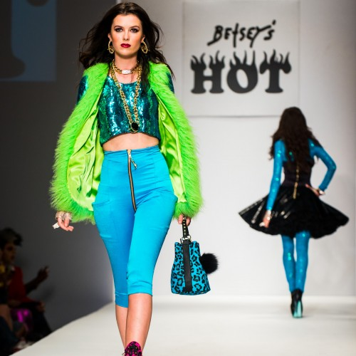 Betsey Johnson 'Hot' It Up at LA Fashion Week