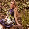 Eva Franco Green Calamity Orla Dress