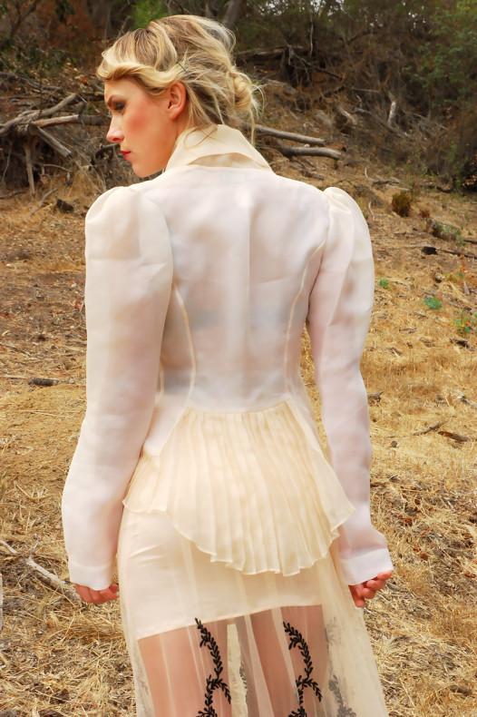 Katharine Kidd Peach Gazaar Jacket