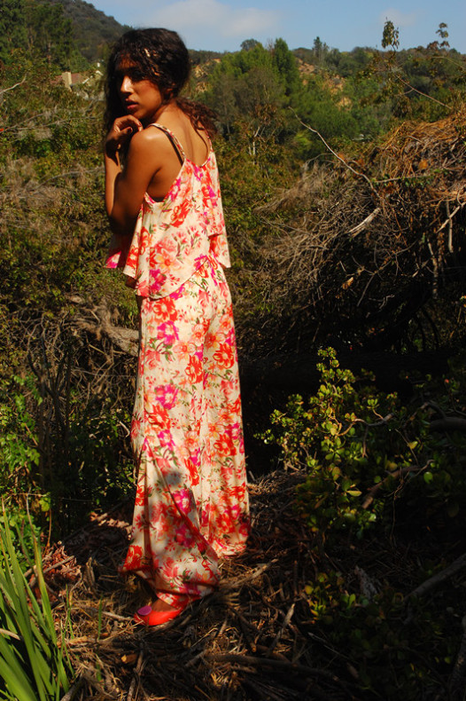 Gypsy Dreams Flower Jumpsuit
