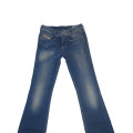 Diesel Louvboot Stretch Cotton Denim Jeans