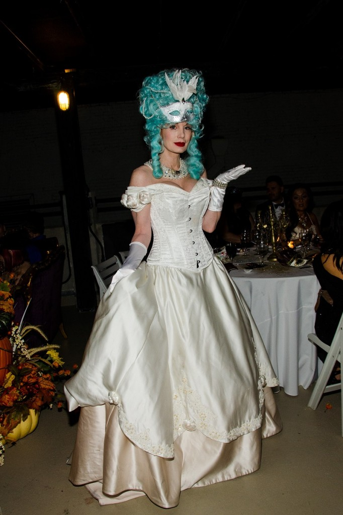 Marie Antoinette meets Phantom of the Opera