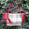 Burberry Small Canterbury Horseferry Check Tote